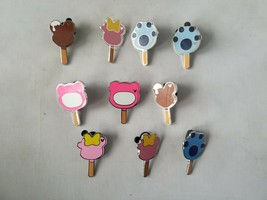 Disney Trading Pins Official Popsicle Theme Lot of 10 Collectible - $23.24