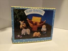 Hallmark Merry Miniatures - Noah and Friends - 1996 - QSM8111 - $4.95