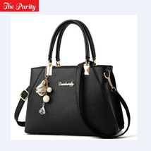 Women Leather Handbag Shoulder Bag Ladies Purse Tote Messenger Satchel M... - $22.76+