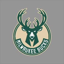 Milwaukee Bucks #2 NBA Team Logo Vinyl Decal Sticker Car Window Wall Cornhole - $6.28+