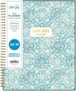 Blue Sky 2020-2021 Academic Year Weekly & Monthly Planner, Spring Semest... - $14.69