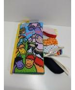 Jollybaby Soft Cloth Book Pony Tails Baby Kid Intelligence Development Toy - $12.73