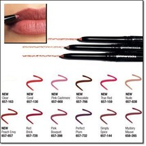 Avon Glimmersticks Lip Liner - Coral - $5.95