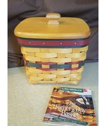 Longaberger 1998 FATHER'S DAY FINDERS KEEPERS Basket Divided Protector W... - $19.95
