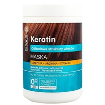 Dr Sante Keratin Hair Mask 1000ml with Keratin and Collagen for Brittle ... - $10.93