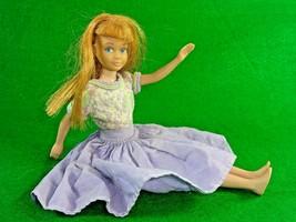Vintage Color Magic Hair Skipper w/ Purple Dress 0950 Carrot Hair Painte... - $31.66