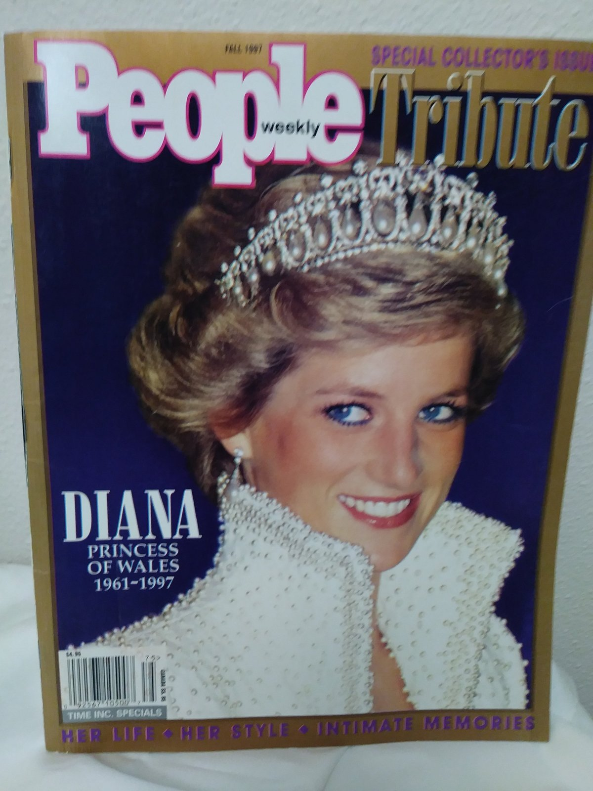 People weekly Tribute Fall 1997 Diana Princess of Wales 1961-1997 Magazine
