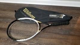 Wilson Hammer 6.2 Hammer System Stretch Tennis Racket + Case 4 1/2 - $32.73