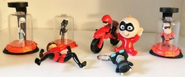 Disney's Pixar Incredibles Happy Meal Toy Lot & More - $5.99