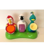 Evenflo Exersaucer Triple Fun Jungle 3 Bird Band Replacement Part Toy In... - $14.99