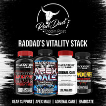Blackstone Labs - RadDad's Vitality Stack -Eradicate, Apex, Gear Support... - $139.30