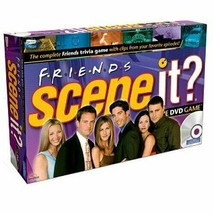 Scene It? Friends Edition DVD Game (2005) in Collectibe Tin - $40.00
