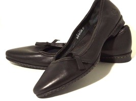 Born Women's Brown Leather Ballet Flats Slip on Shoes Size 6 M Pointed T... - $29.69