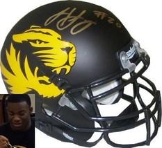 Henry Josey signed Missouri Tigers Authentic Schutt Alternate Mini Helmet - $47.95