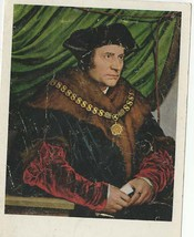 sir thomas moore postcard printed in switzerland, good condition