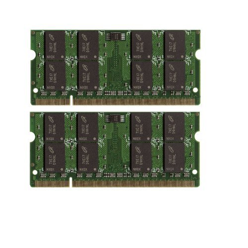 2GB 2x1GB RAM Memory DDR2 • Dell Latitude D531