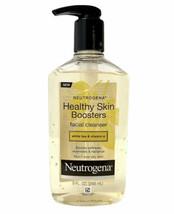 NEUTROGENA Healthy Skin Boosters Facial Cleanser 9 oz. White Tea & Vitamin E NEW - $58.41