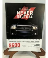 Autoweek Magazine Reigniting Dodge Passion Supplement 2010 Challenger SRT - $8.42