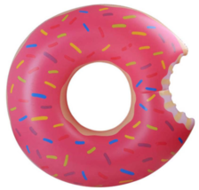 Summer Vacay Pink Donut Swimming Float - $34.99