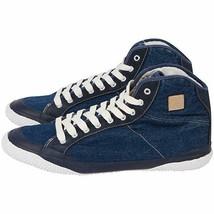 Men Denim Styled Fila Casual Sneaker 3/4 Top Size 6.5 - $39.30