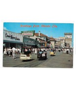 Greetings from Atlantic City NJ Stores Boardwalk Rolling Chairs Vintage ... - $6.69
