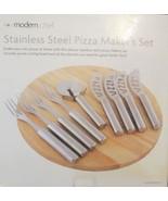 Modern Chef Stainless Steel Pizza Maker Set - $22.27