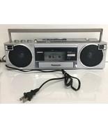 Vintage Panasonic RX-F2 AM/FM Cassette Boombox Radio  - $46.74