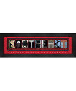 Southeast Missouri State University Officially Licensed Framed Campus Le... - $39.95