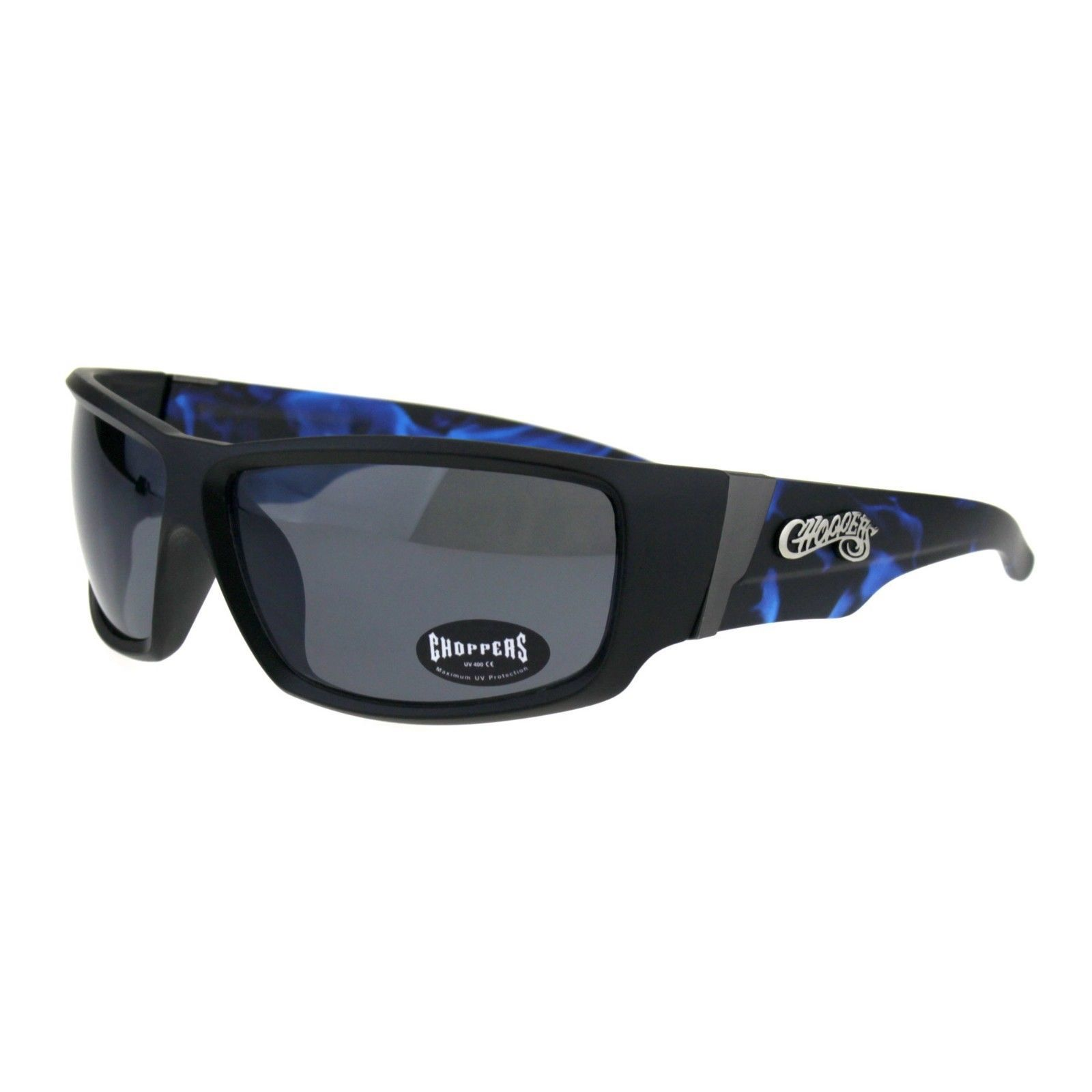 878f68f6f543 S l1600. S l1600. Previous. Choppers Sunglasses Mens Biker Fashion  Rectangular Flame Design. Choppers Sunglasses ...