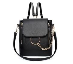 Fashion Women Backpack Bag Leisure Shoulder Crossbody Transform Handle L... - €39,95 EUR