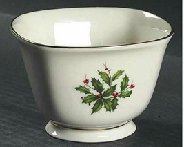 Treat Bowl Holiday (Dimension) by LENOX Hollyberry Width 4 1/4 in Height... - $14.01