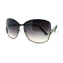 Flash Bolt Design Sunglasses Womens Metal Butterfly Frame - $7.95