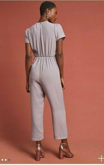 Anthropologie Plath Jumpsuit by Amadi $150 Sz M- NWT