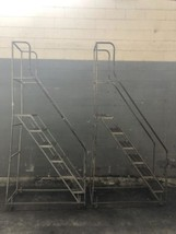 6 Step Aluminum Alco-Lite Ladder 4.5' Qty.2 - $175.00