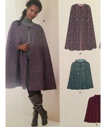 New Look Sewing Pattern 6073 Ladies Misses Cape Two Lengths Size XS-XL New - $14.77