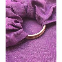 The Sling | Ring Sling Baby Carrier | Berry + Rose Gold