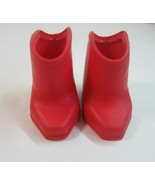 Vintage 1984 Ideal CBS Toys Kitt & Kaboodle Red Original Cowboy Boots fo... - $10.75