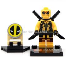 Deadpool Classic Figures Minifigure Marvel Super hero Children kids Gift toys - $8.99
