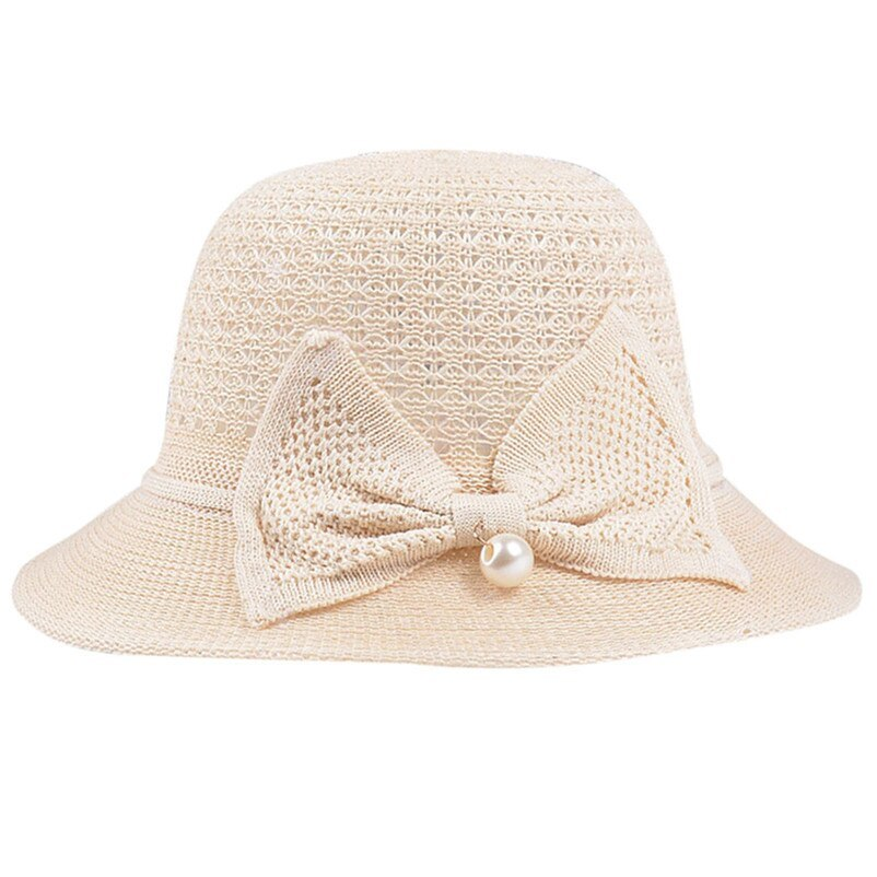 Sun Hats For Women Casual Sunscreen Solid Wide Breathable Brimmed Floppy Foldabl