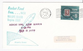 ASROC NWL LGM ROCKET FIRED FROM WALLOPS ISLAND VIRGINIA 2/13/1973 - $1.98