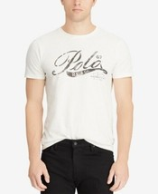 Polo Ralph Lauren White Custom Slim Fit Cotton T-Shirt; SMALL #600 - $19.99