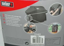 Weber 7107 Full Length Grill Cover with Storage Bag Color Black image 4