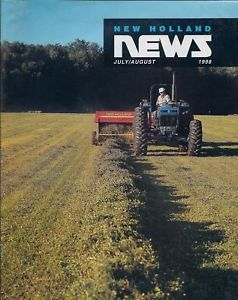 Primary image for New Holland News Magazine July/August 1998