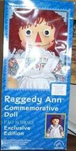 Raggedy Ann F.A.O Schwarz Exclusive by Applause.U.S Postage Doll. LE of ... - $137.19