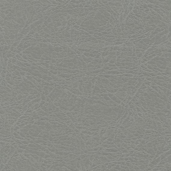 9.625 yds Ultrafabrics Upholstery Fabric Fresco Faux Leather Gray 544-5743 PA