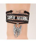 Infinity Love Supernatural Bracelets Pentagram Wings Charm Bracelets & ... - $7.90