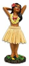 KC Hawaii Hula Girl Posing Mini Dashboard Doll 4.4 inches - $13.61
