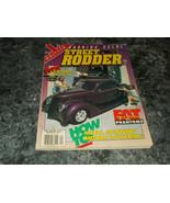 Street Rodder Magazine Vol 22 No 4 April 1993 Lift Off Top - $2.99