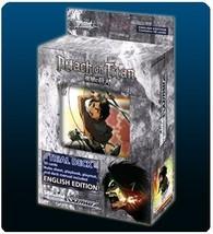 Bushiroad Weiss Schwarz TCG: Attack on Titan Trial Deck - $16.83