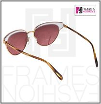 OLIVER PEOPLES JOSA OV1187S Rose Gold Pink Crystal Cat Eye Sunglasses 1187 image 5